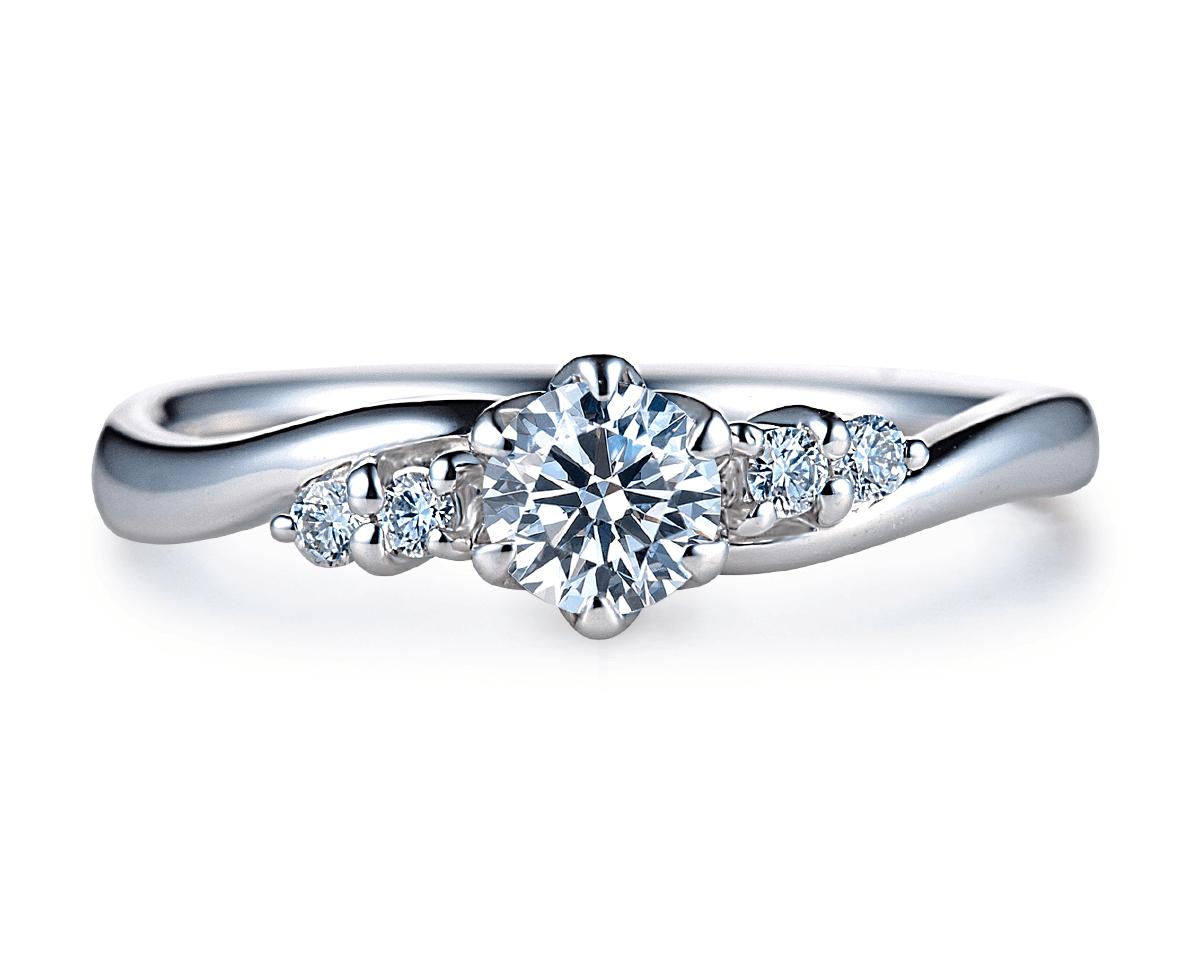 婚約指輪(エンゲージリング)商品ID:4046