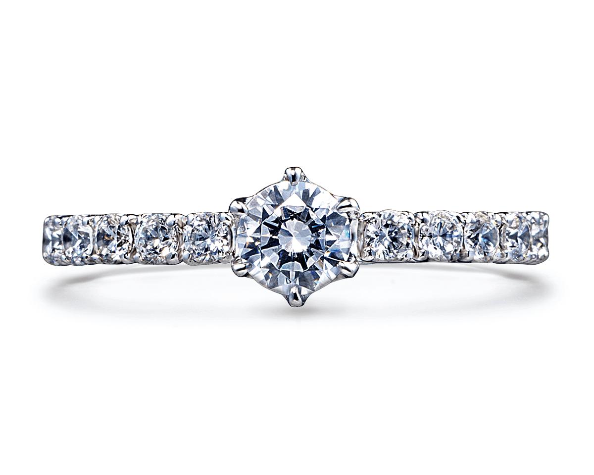 婚約指輪(エンゲージリング)商品ID:4708